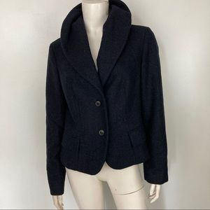 Max Mara Shawl Collar Wool Jacket